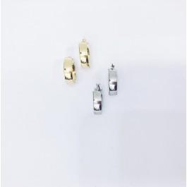 σκουλαρικια ασήμι925 minimal κρεμαστά bantouvani silver κρίκοι