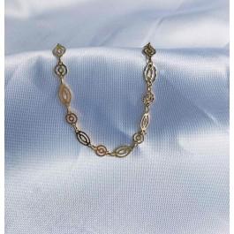 κολίε αλυσίδα χειποποίητη κόσμημα χρυσό επίχρυσο ασημένιο bantouvani vintage κοντό choker χοντρή παχιά