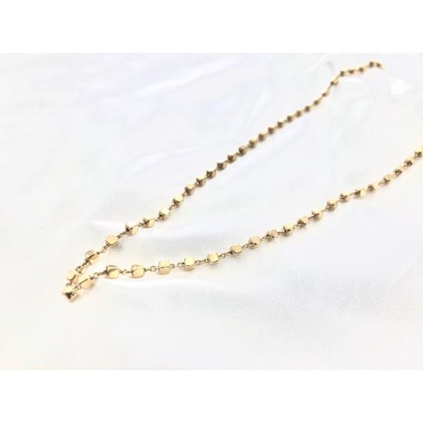 κολίε αλυσίδα χειποποίητη κόσμημα χρυσό επίχρυσο ασημένιο bantouvani vintage κοντό choker χοντρή παχιά layer layering