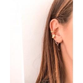 σκουλαρίκια ασήμι 925 minimal bantouvani silver κρίκοι μικρά γυναικείο χωρίς τρύπα