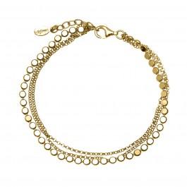 bracelet βραχιόλι αλυσίδα κρεμαστά ασήμι gregio