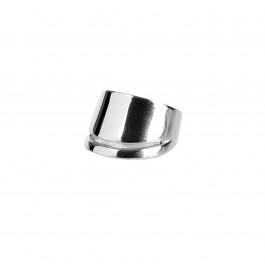 ring δαχτυλιδι ασημενιο silver απλό minimal bantouvani chevalier διπλό