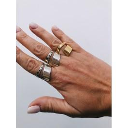 ring δαχτυλιδι ασημενιο silver minimal ζιρκόν