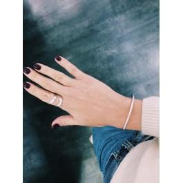ring δαχτυλιδι ασημενιο silver arrow minimal