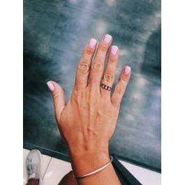 ring δαχτυλιδι ασημενιο silver minimal wedding βέρα μονόπετρο ζιρκόνιο απλό λεπτό