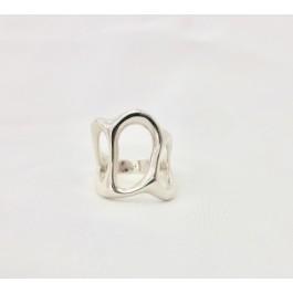 ring δαχτυλιδι ασημενιο silver minimal απλο kyma