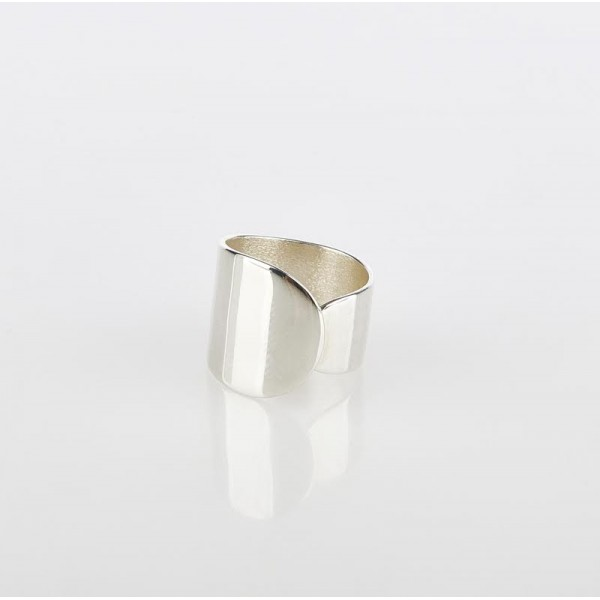 ring δαχτυλιδι ασημενιο silver minimal απλό